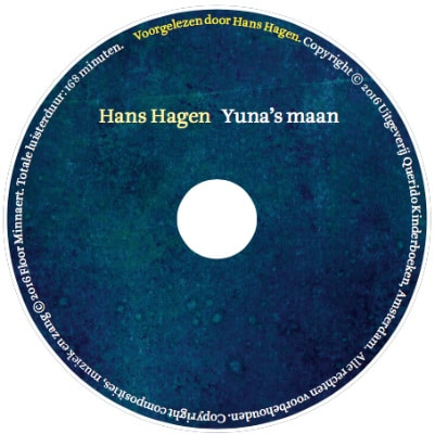 Yunas maan cd-label
