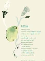 Plint-poster Letters - Uitverkocht
