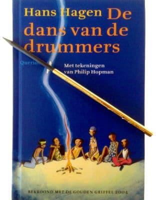 De dans van de drummers - griffel